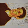 Selbstporträts als Mehrfarben-Linolschnitt_15