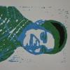 Selbstporträts als Mehrfarben-Linolschnitt_16
